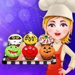 Gruselige Cupcakes Spiel