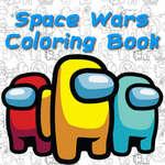 Space Wars Dibujos animados para colorear juego