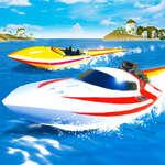 Скорост лодка екстремни състезания игра