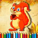 Squirrel Coloring Book game