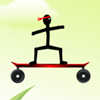 Stickman Skateboard-Bike Challenge jeu