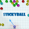Stickyball game