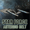 Star Force-pásu asteroidov hra