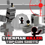 Stickman Killer Top Gun Shots game