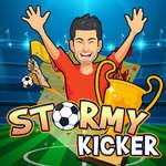 Stormachtige Kicker spel