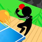 игра Stickman пинг-понг