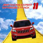 Stunt Jeep Simulator Impossible Track Racing Game joc