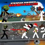 Stickman maverick rosszfiú gyilkos játék
