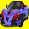 Para colorear de coche Super challenger juego