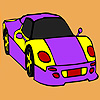 Superb car coloring game