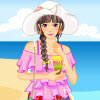Summer Beach Vacation Dressup game