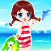 Sommer Strand Dress Up Spiel