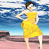 Sunny party dress up game