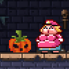 Super Maria Halloween game