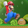 Super Mario VS Pou spel