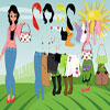 Summer Girl Dress Up jeu
