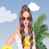 surfer girl dressup game