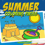 Summer Coloring Pages game