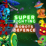 Super Fighting Robots Defense game