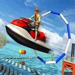 Супер джет ски състезание каскадьор водна лодка състезателни 2020 игра