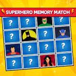 Partido de memoria de superhéroes juego