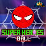 Супер герои топка игра