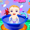 Sweet Baby Bathing game