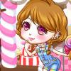 Chica de la tienda de dulces dulces juego