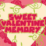 Sweet Valentine Memory game