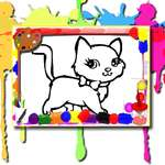 Sweet Cats Coloring game