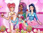 Sweet парти с принцеси игра
