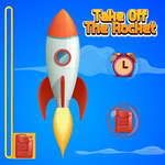 Take Off The Rocket en verzamel de munten spel