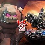 Tartály VS Golems 2 játék