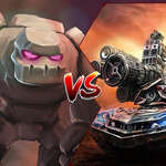 Tank VS Golems Spiel