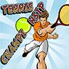 Championnat de tennis jeu