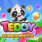 Teddy Bubble Rescue jeu