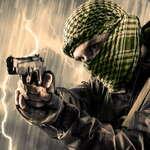 Terror-Schießerei Spiel