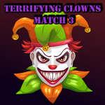 Ужасяващ клоуни мач 3 игра
