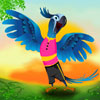 Il pappagallo blu gioco