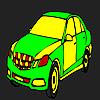 La coloración de gran coche empresa juego