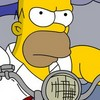 MotoMania de Homer Simpsons joc