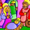 Three Kings Day Coloring game