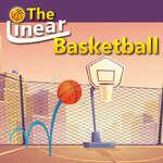 Der lineare Basketball Spiel