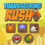 игра День Благодарения Rush