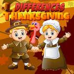 Diferencias de Acción de Gracias juego