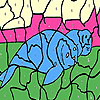 Tired seals coloring game