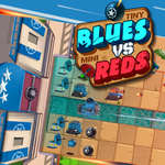 Tiny Blues Vs Mini Reds spel