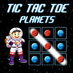 Tic Tac Toe Planets game