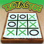 игра Tic Tac Toe Бумага Примечание