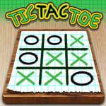 Tic Tac Toe Paper Note jeu
